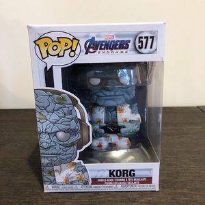 Marvel Avengers Endgame #577 Gamer Korg Funko Pop!